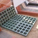Плитка газонная песчанно-полимерная