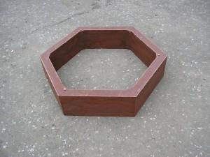 Шестигранник песчанно-полимерный
