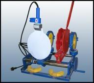 «УСПТУ 110» Установка для стыковой сварки полимерных труб под углом диаметром 63, 90 и 110 мм